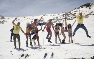 Esquiar en abril en sierra nevada es posible