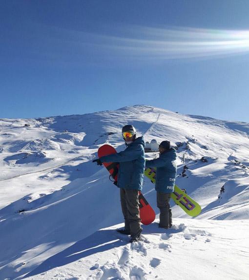 Cursos de snowboard en Sierra Nevada