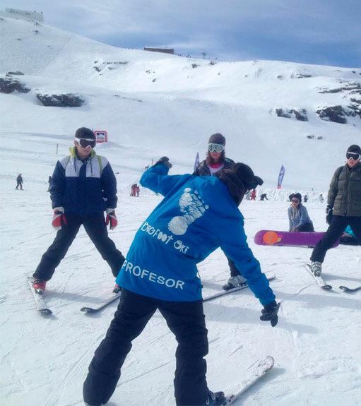 Alquiler de equipo de esquí en Sierra Nevada