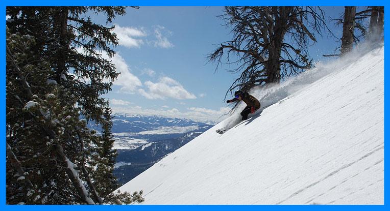tipos de pistas de esquí