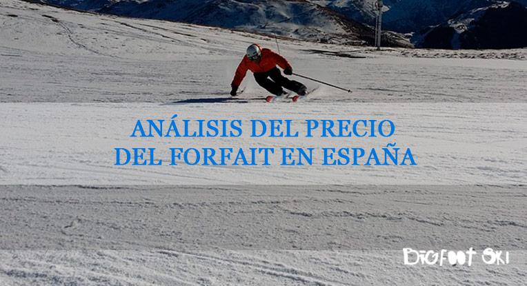 Análisis del precio del forfait en España