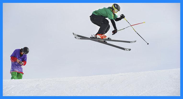 Para aprender a esquiar bien