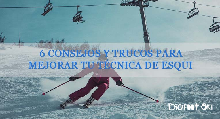 6 consejos y trucos para mejorar tu técnica de esquí
