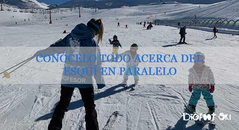 Conócelo todo acerca del esquí en paralelo