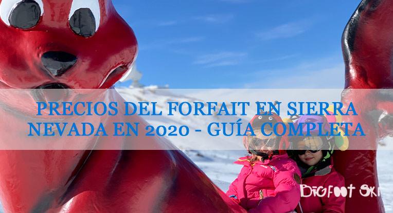 Precios del Forfait en Sierra Nevada en 2020 – Guía completa